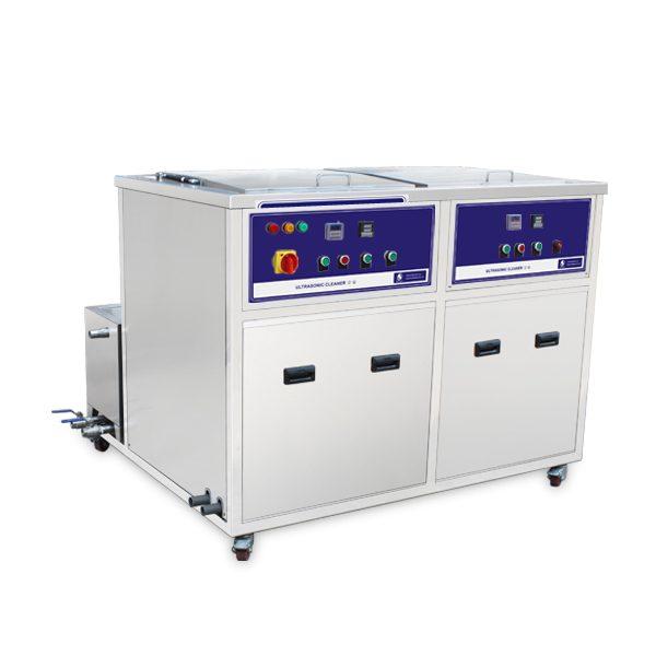 Bể rửa siêu âm 2 bồn JP-2024GH 77L
