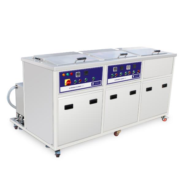 Bể rửa siêu âm 3 bồn JP-3048GPH 77L
