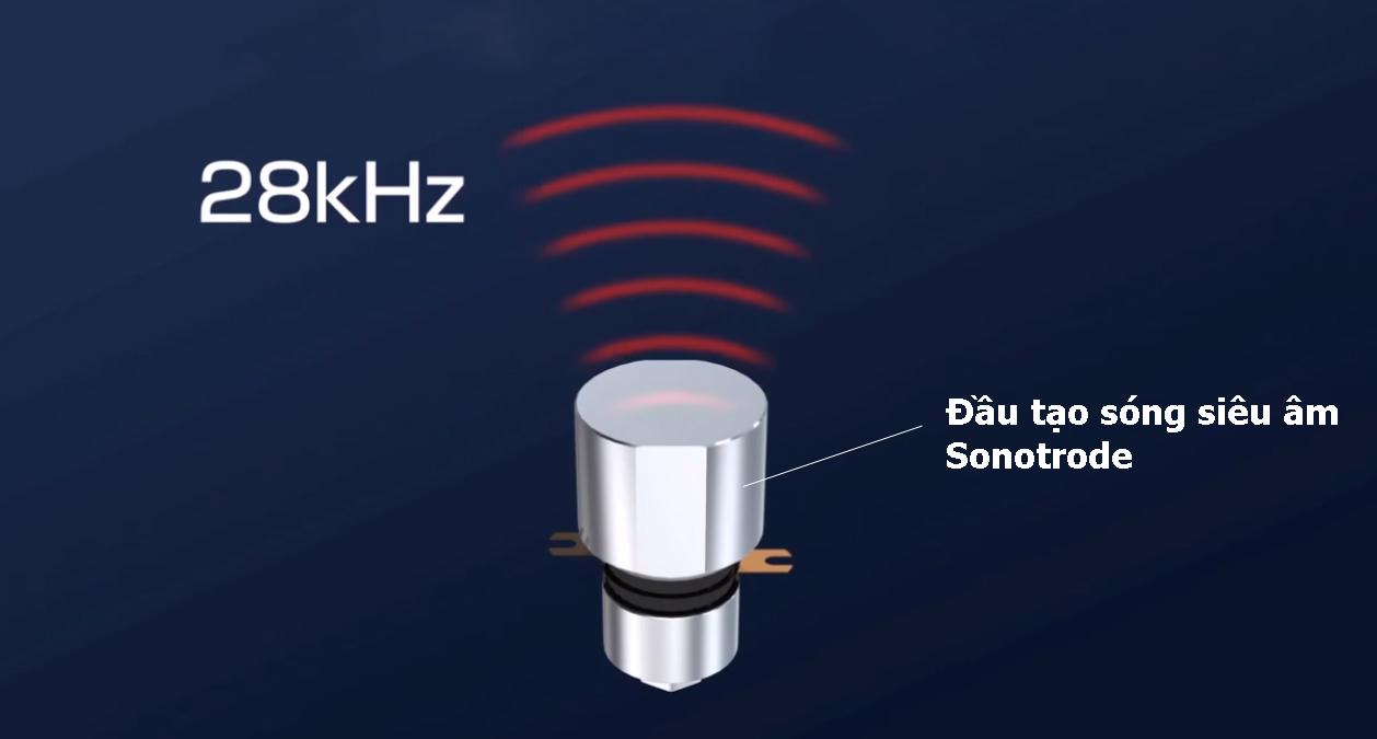 Đầu tạo sóng siêu âm tần số 28kHz