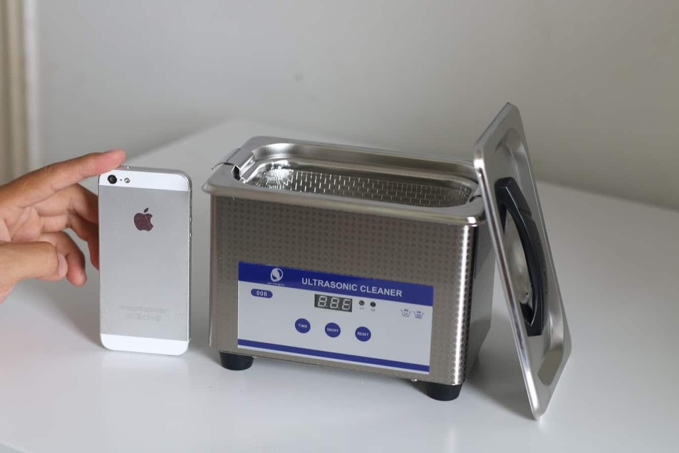 Kích thước Bể rửa siêu âm thông minh JP-008